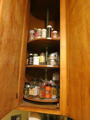 Sanity Do Not Install A Lazy Susan In A Corner Cabinet